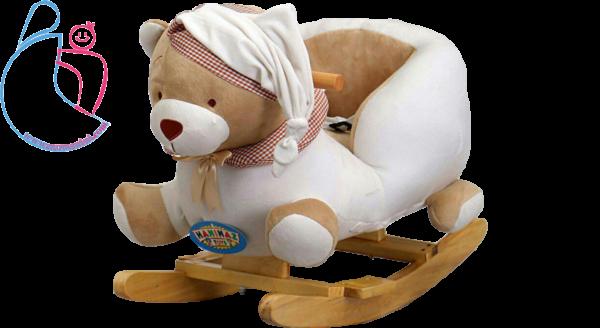راکر موزیکال کودک مدل خرسی تدی