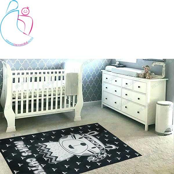 فرش فانتزی اتاق کودک مامزکیوتی طرح خرس سرخپوست