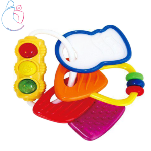دندانگیرHulie toys چراغ دار دسته کلیدی