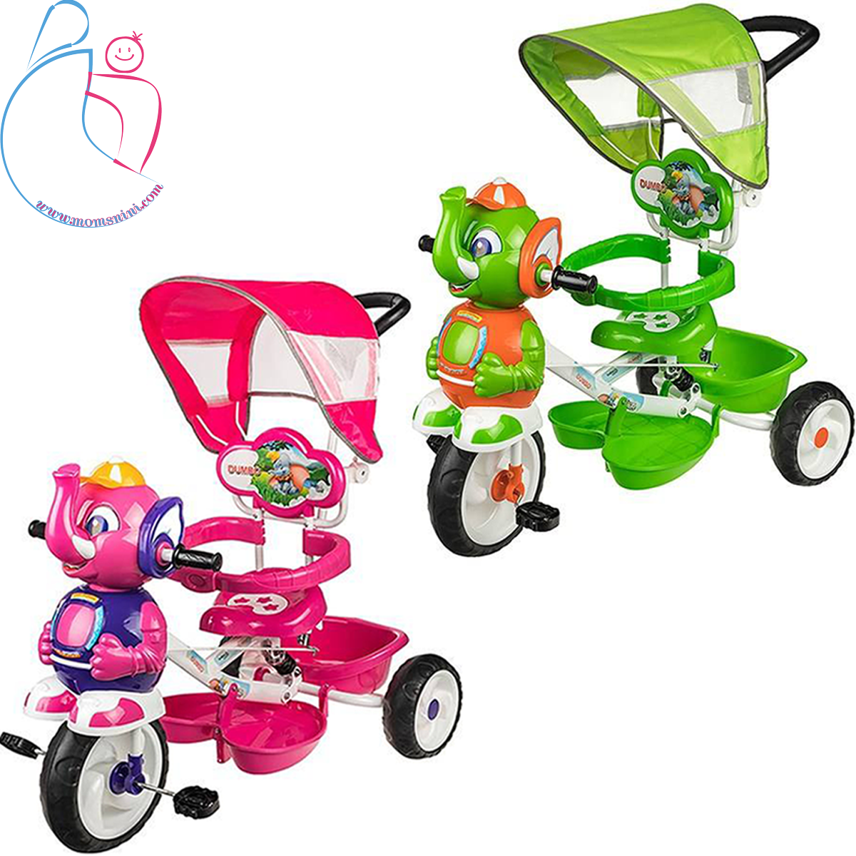 سه چرخه بیبی لند مدل ElephentBaby Land Elephent Tricycle