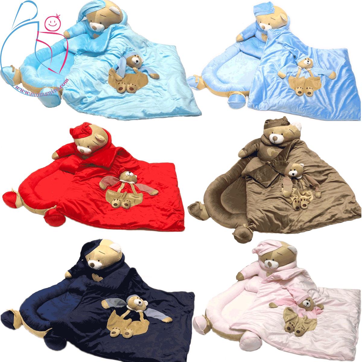 تشک حفاظ دار سه تکه خرس تدی(teddy bear)