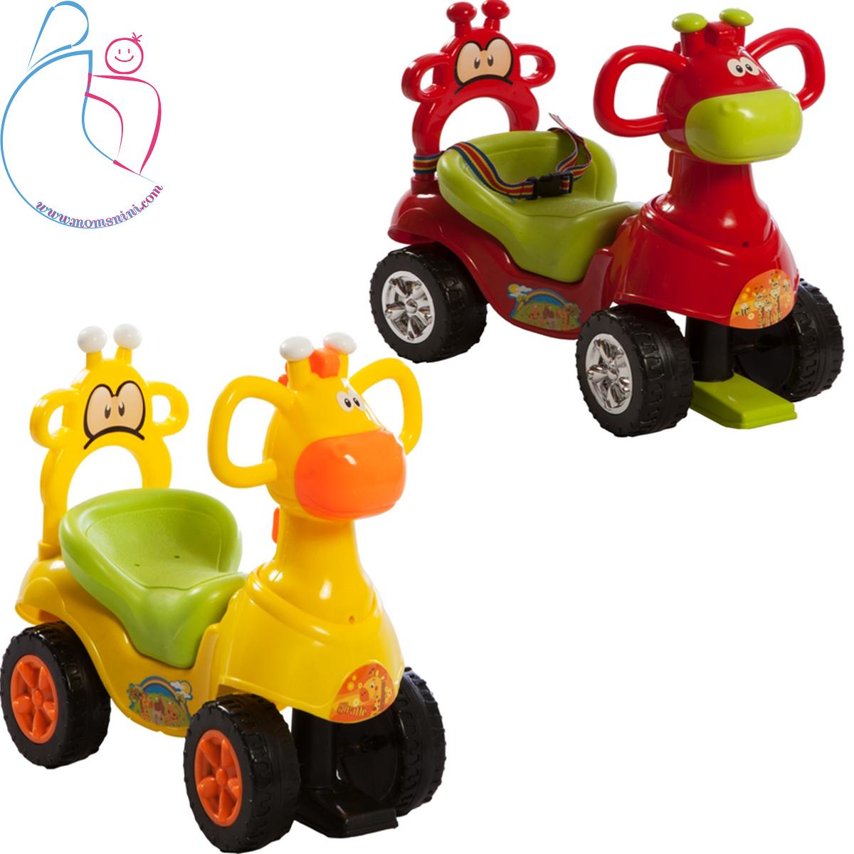 ماشین بازی سواری سپیده تویز مدل زرافه