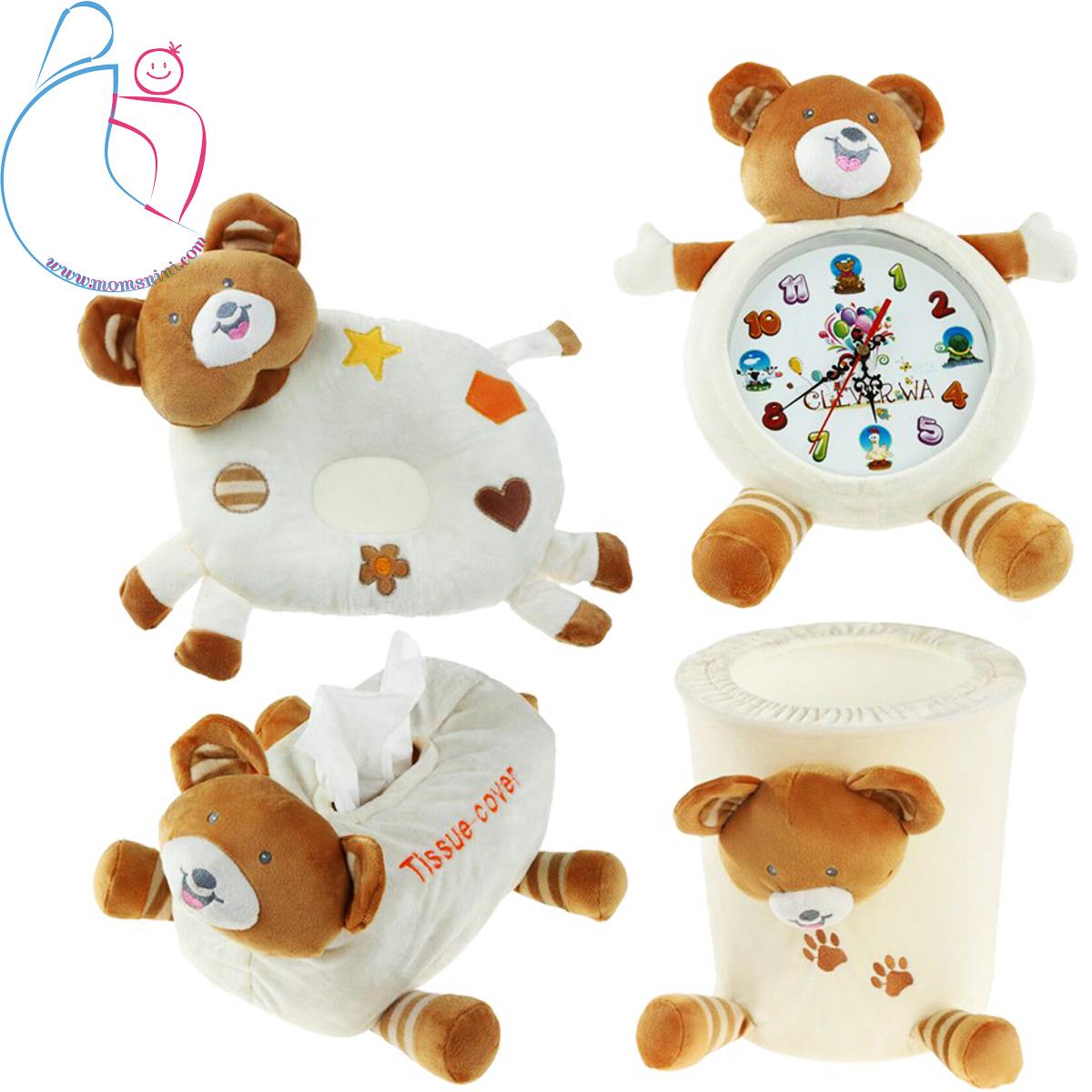 ست ۴ تکه اتاق کودک مدل خرس