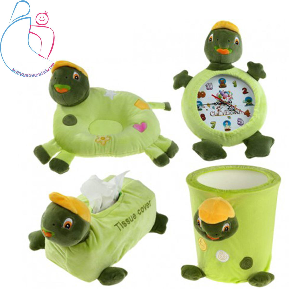 ست پولیشی ۴ تکه مدل  لاکپشت