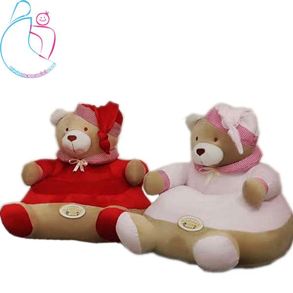 مبل موزیکال کودک مدل خرسی تدی (teddy bear)