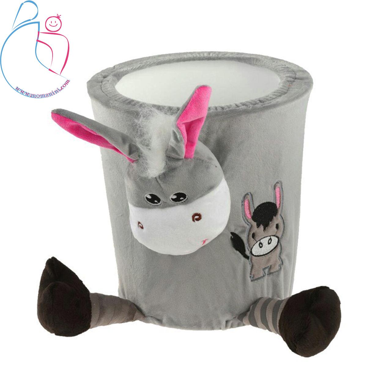 سطل زباله اتاق کودک مدل الاغ