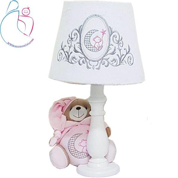 آباژور اتاق کودک طرح خرس تدی (teddy bear)