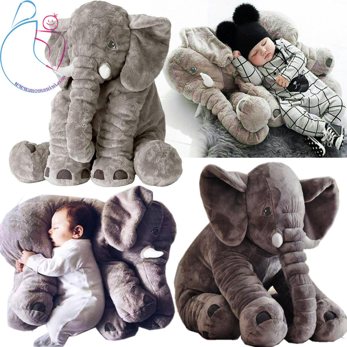 عروسک طرح فیل بالشتی مدل mommy elephant