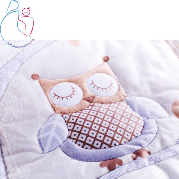 سرویس خواب چهار تکه roseborn طرح BOOFY OWL