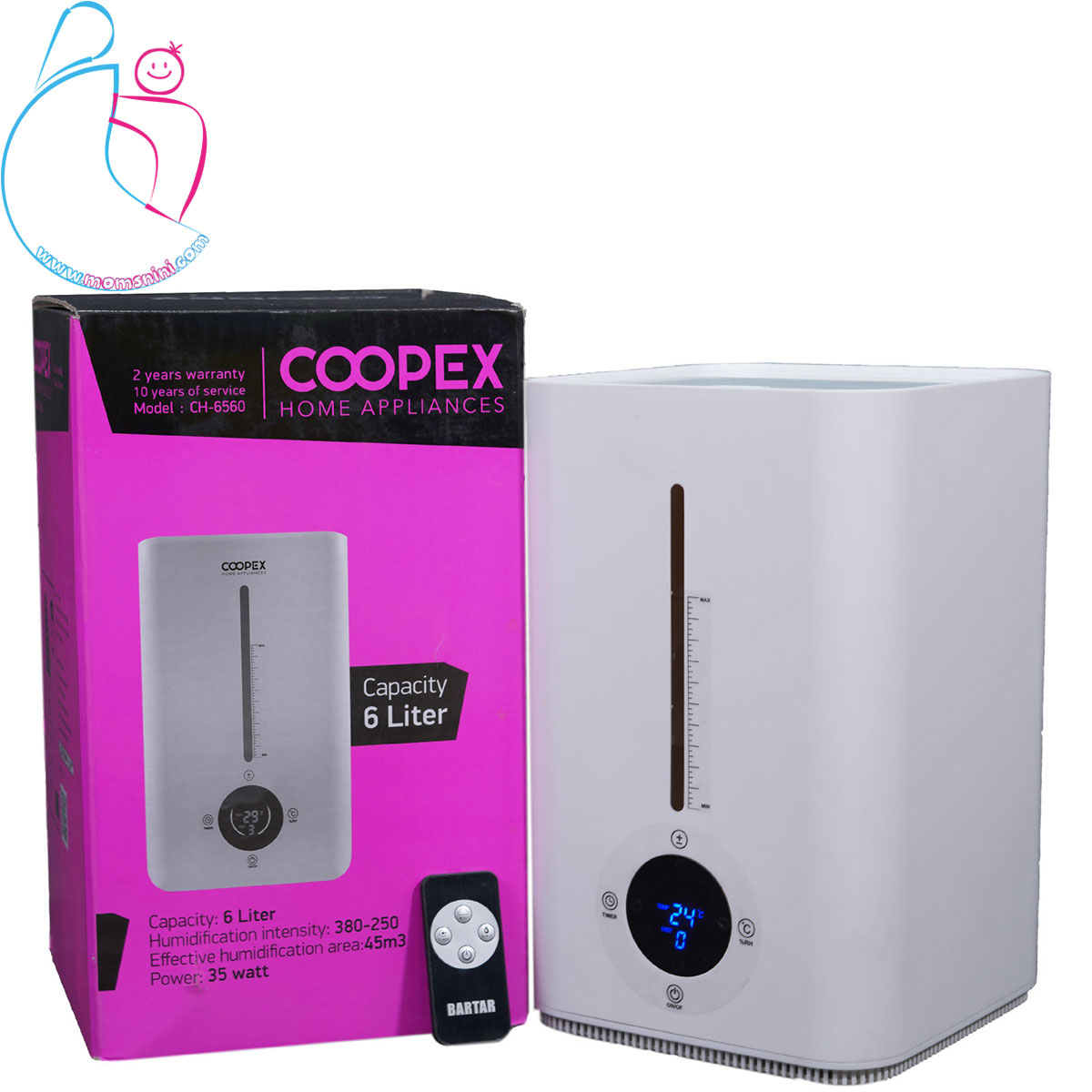 دستگاه بخور سرد کوپکس مدل 6560