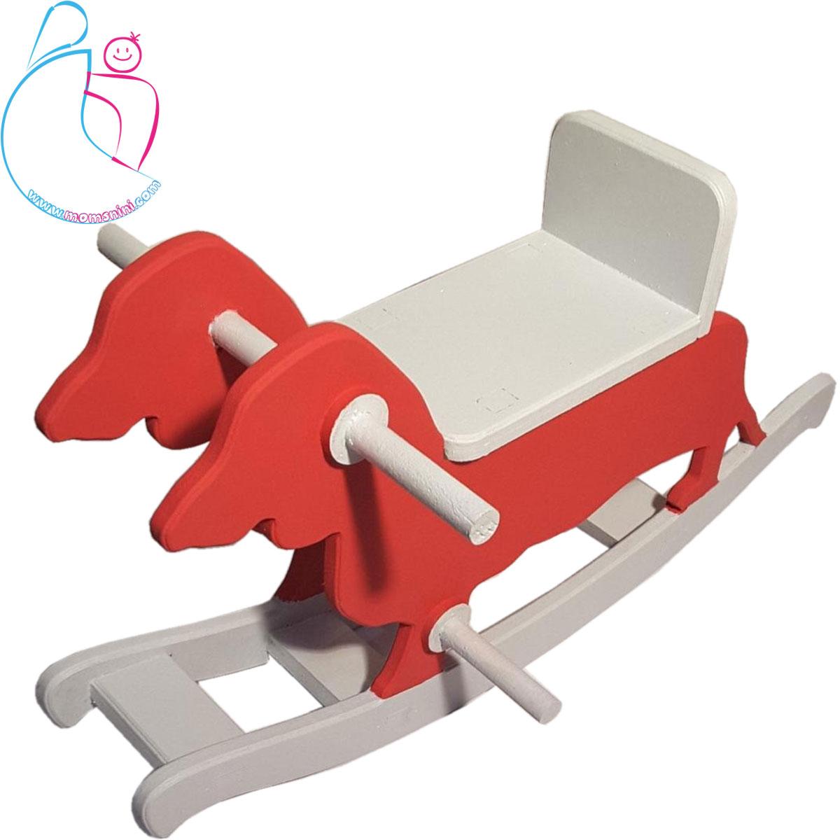 راکر چوبی پارمیس طرح سگ
