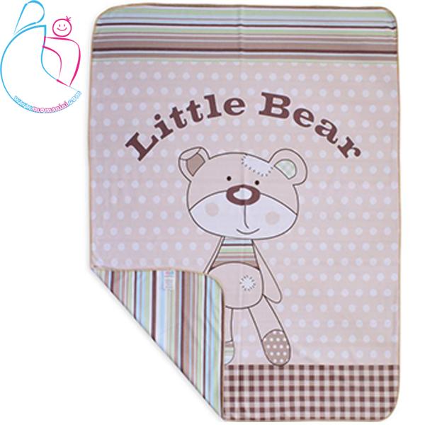 پتو دورپیچ نخی طرح LITTLE BEAR