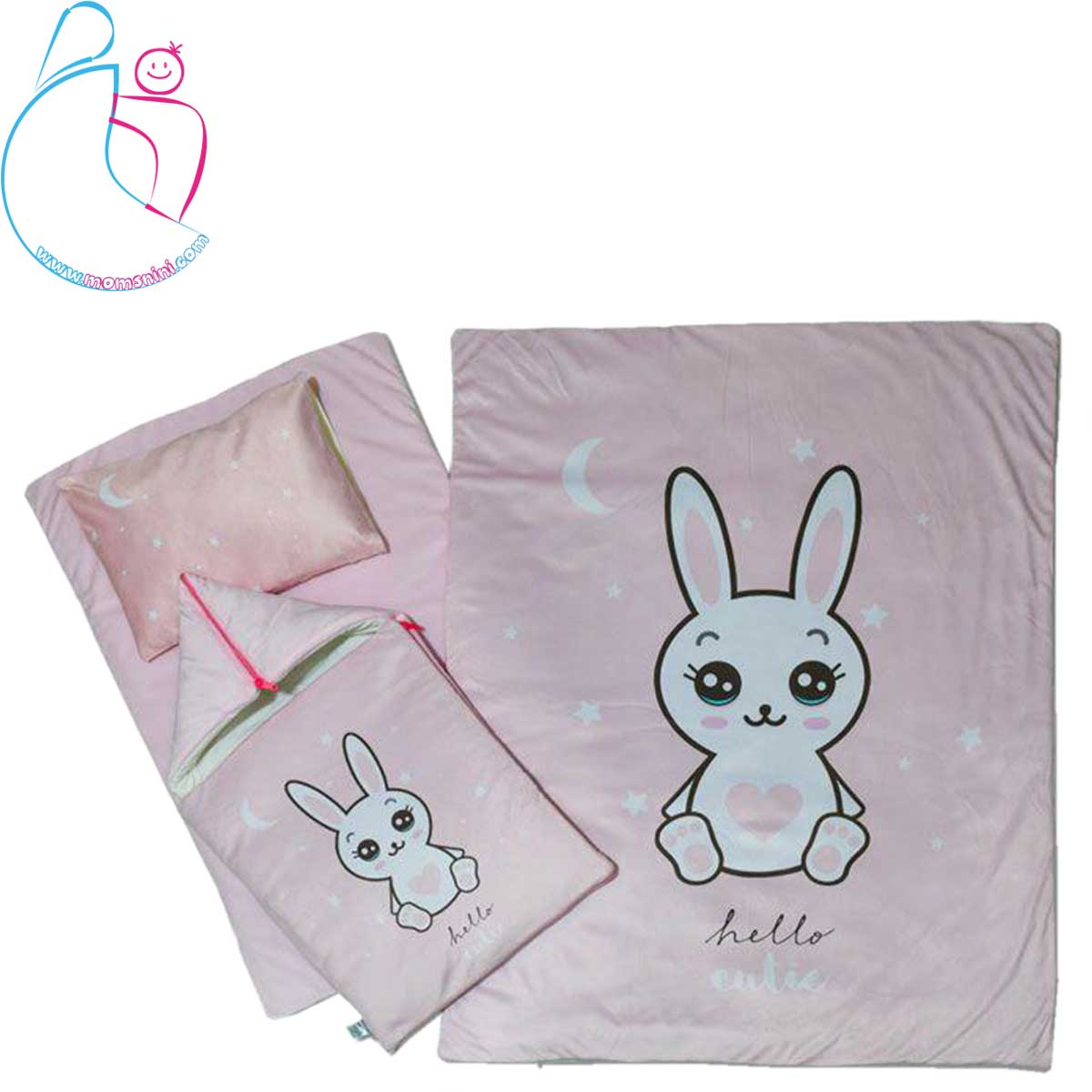 سرویس خواب ۴ تکه کودک مدل خرگوش لوس