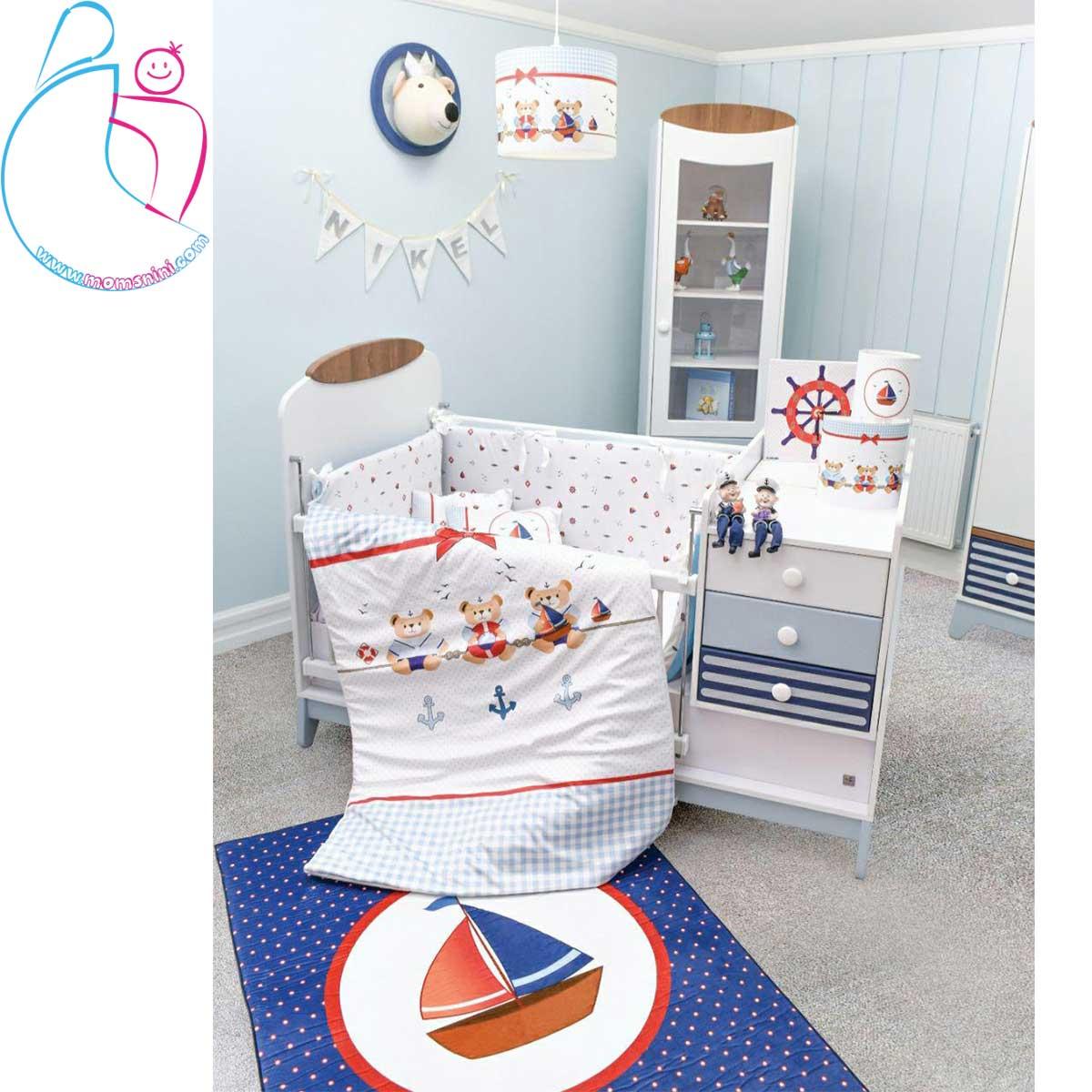 ست کامل اتاق کودک طرح ملوان