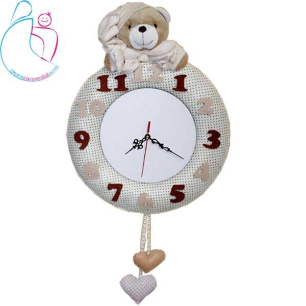 ساعت اتاق کودک آرامیس مدل خرس