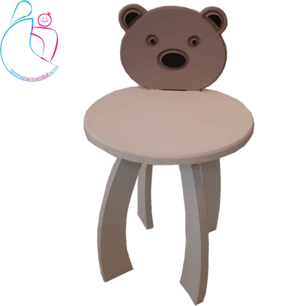 صندلی چوبی پارمیس مدل خرس