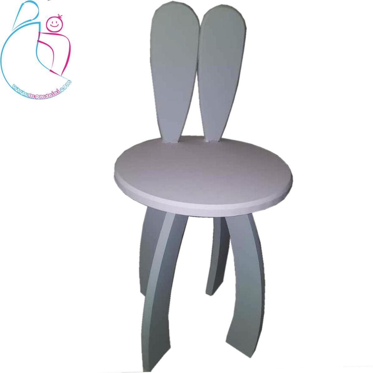 صندلی چوبی پارمیس مدل خرگوش
