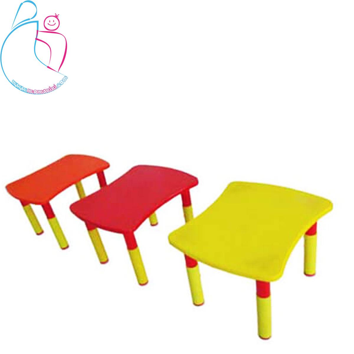 میز قابل تنظیم کودک مدل چند تکه