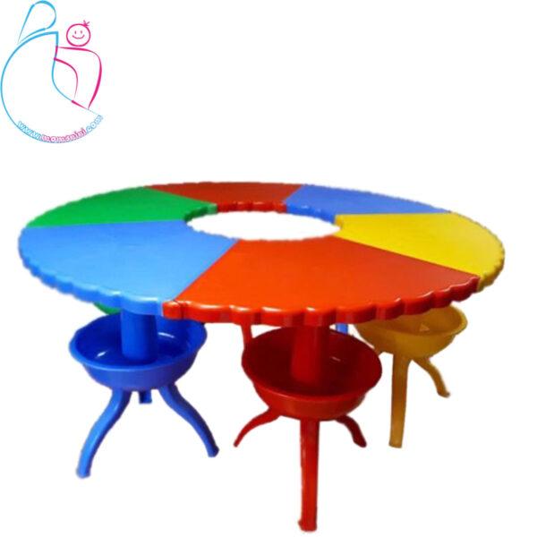 میز انعطاف پذیر هشت پا